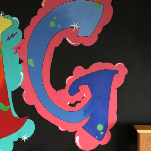 Murals by Louise Dean - Artist seen at Private Residence, Royal Tunbridge Wells - Graffiti Bedroom Wall