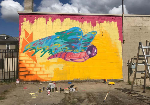 Murals by Rudy Mage - Butterfly Mural