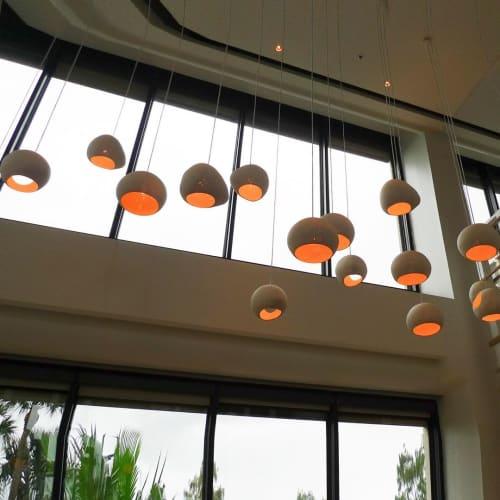 Pendants by lightexture seen at Hyatt Regency Orlando, Orlando - XL Claylight Pendant