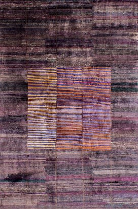 Rugs by Woven Concepts at 1:1 Piero Lissoni, Brooklyn - Lorca (Dusty Plum)