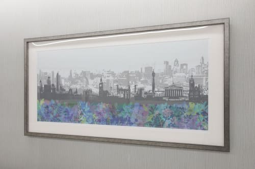 Art & Wall Decor by Helen Bridges seen at University College Hospital : Elizabeth Garrett Anderson Wing, London - HCA at University College Hospital