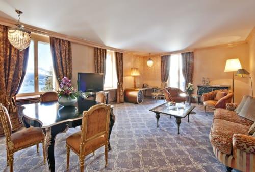 Tables by Sergio Villa Mobilitaly at Carlton Hotel St. Moritz, Sankt Moritz - Costantino Recupluxe Coffee Table