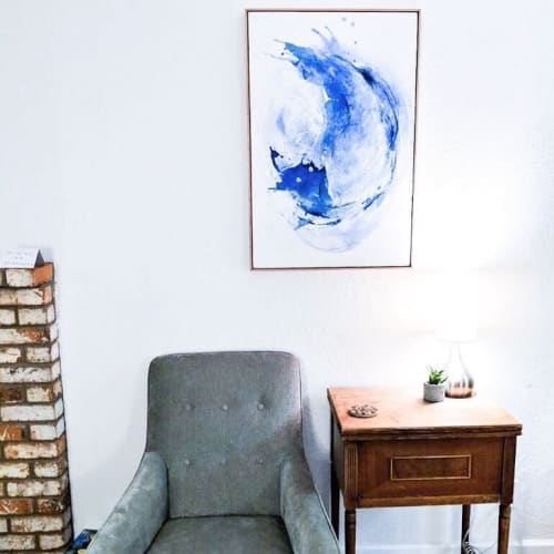 Paintings by Emily Dilbeck seen at Private Residence, Sacramento - Abstract paintings