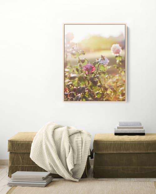 Photography by Kara Suhey Print Shop seen at Creator's Studio, Santa Barbara - Pink Light Flora