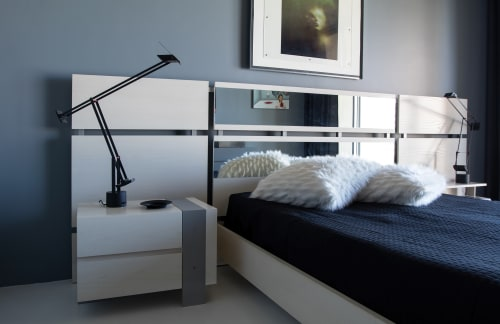 Beds & Accessories by Antoine Proulx, LLC at Private Residence, Phoenix - BD-119S Mirror Headboard