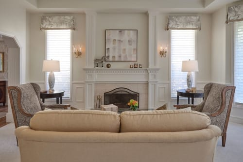 Interior Design by Michelle Yorke Interior Design seen at Private Residence, Bellevue - Grousemont Estates