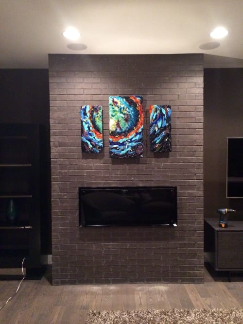 Wall Hangings by Natalie Ventimiglia seen at Private Residence, Denver - Expansion