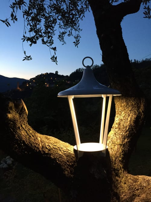 Lamps by Estro Srl seen at Private Residence, Montalcino - Witch L