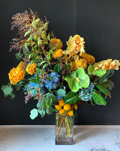 Floral Arrangements by Yedda Morrison Studio seen at Private Residence, San Francisco - Bouquets & arrangements