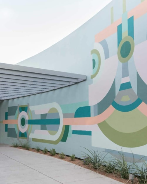 Murals by Janel Garza seen at Scottsdale Museum of Contemporary Art, Scottsdale - Wall Mural