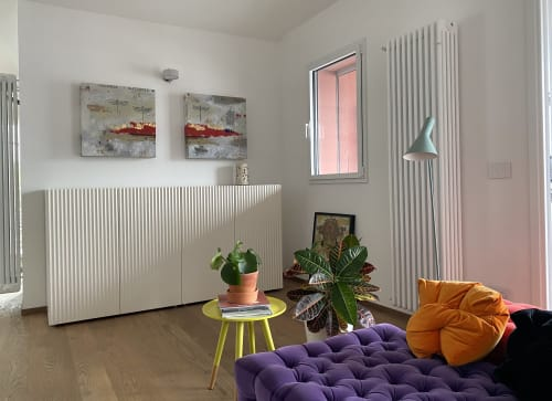 Paintings by margherita martinelli seen at Private Residence, Milan - margherita martinelli