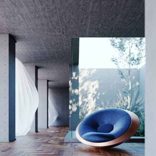 Couches & Sofas by Mavimatt seen at Private Residence - U.F.O. Armchair