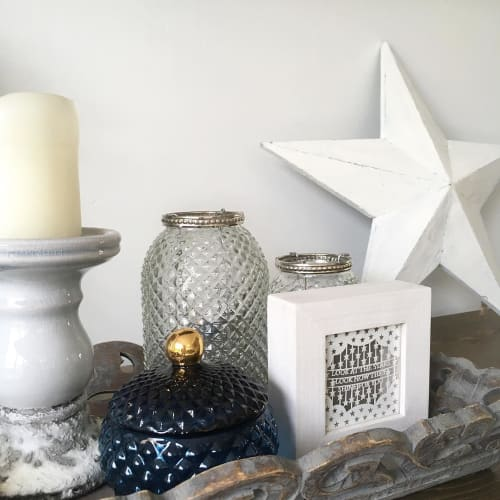 """Art & Wall Decor by Georgia Low seen at Private Residence - """"Look at the star"""" Paper Cut Art"""