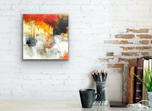 Paintings by Pamela K Beer Contemporary Fine Art seen at Private Residence, Inverness - Capistrano Revisited