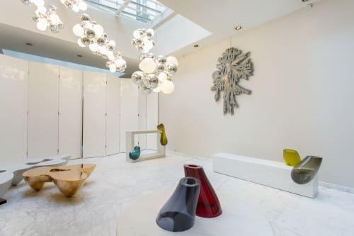 Chandeliers by Babled Design seen at Artist studio, Lisbon - Digit Light