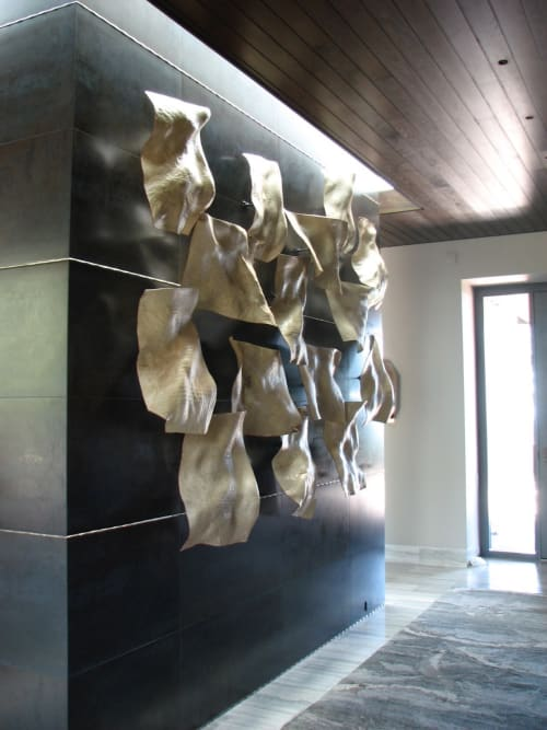 Sculptures by Christian Burchard seen at Private Residence, Tucson - 'Flight'