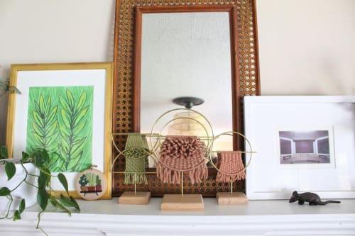 Art & Wall Decor by Emily Barton Design seen at Creator's Studio, Greenville - Woven Sculptures