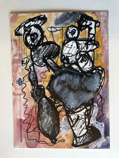 Paintings by Joseph Slusky seen at Seattle, Seattle - Drawings