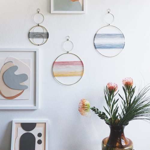 Wall Hangings by Attalie Dexter Home + Accessories at Private Residence, Los Angeles - Gradient Mobiles