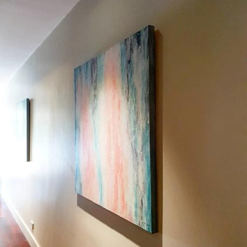 """Belief"" and ""Clarity"" Paintings   Paintings by Jacinta Payne   Yarra Day Spa in Warrandyte"