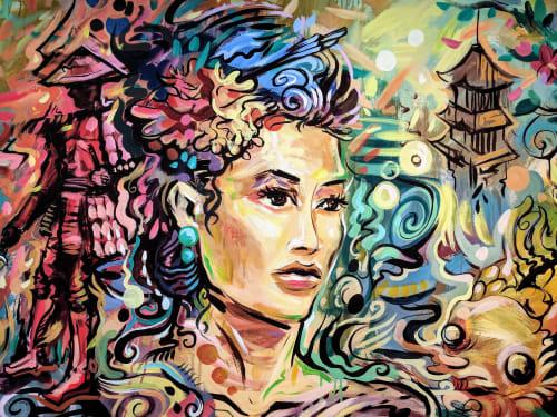 Rai Cruz - Murals and Art