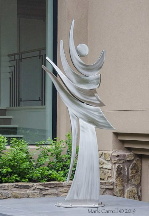 Sculptures by The Sculpture Studio LLC seen at Private Residence, Paradise Valley - Untitled