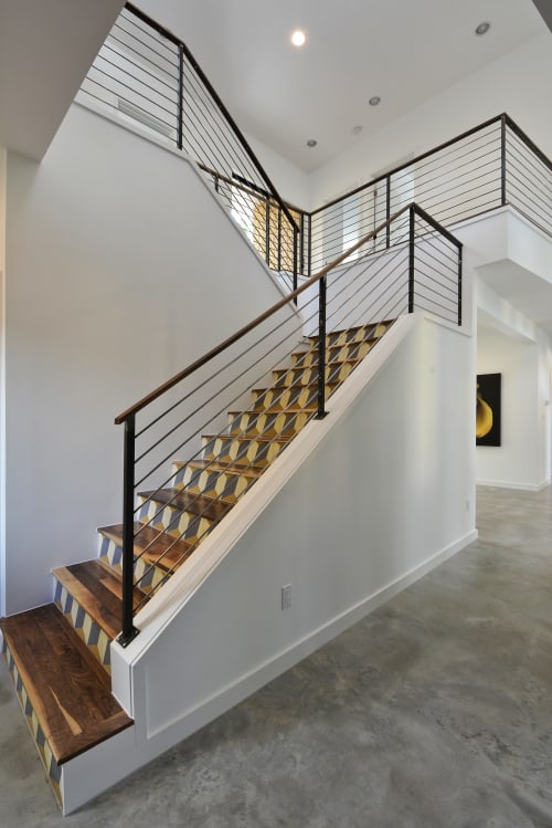 Hardware by Brian Chilton Design at Client Residence - Sacramento, CA, Sacramento - Custom Staircase