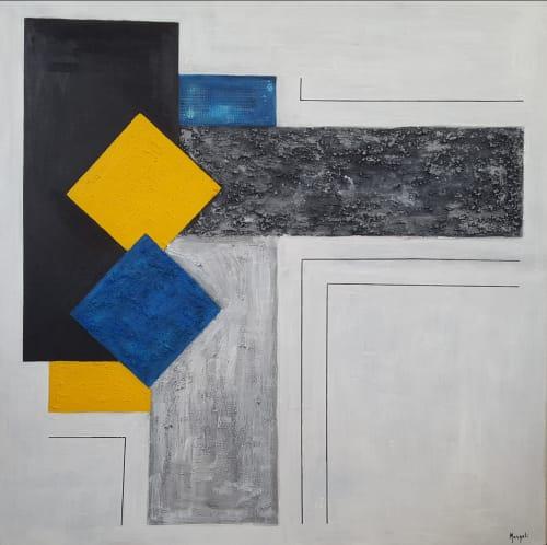 Paintings by Masqali seen at Seville, Seville - Los colores de mi alma