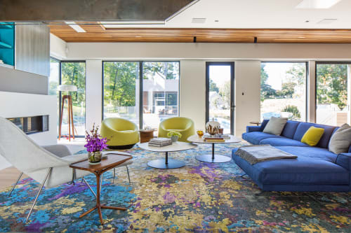 Rugs by Woven Concepts at Private Residence, New York - Aldrin (Ophelia)