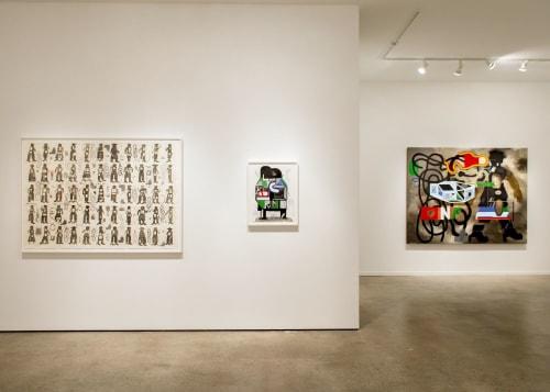 Paintings by Warren Dykeman seen at Seattle, Seattle - Attention Span Exhibition