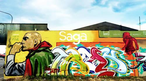 Wongi - Street Murals and Murals