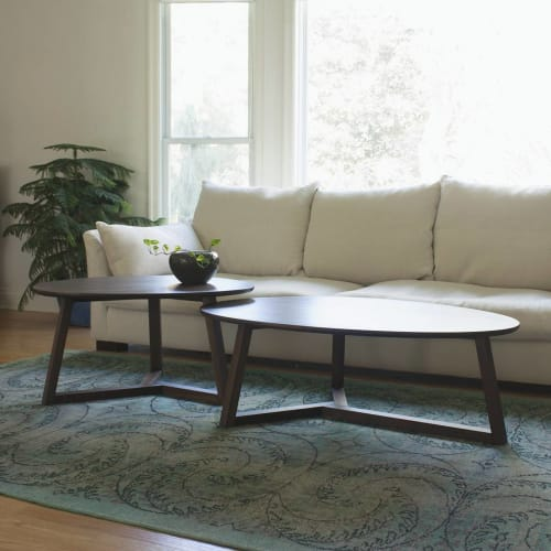 Tables by Foris seen at Washington, Washington - Ovoid Coffee Tables