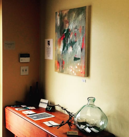 Paintings by Abby Creek Studios - Paintings by Linda O'Neill seen at Settembre Cellars, Boulder - Everything Carries Me To You
