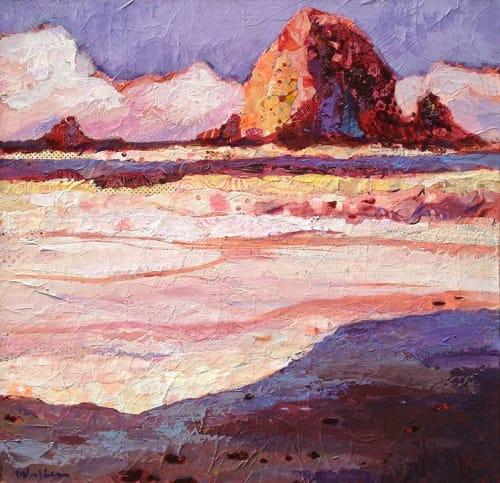 Paintings by Shelli Walters Studio seen at Creator's Studio, Bend - Angelsea Painting