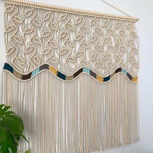 Macrame Wall Hanging by YaShi Handmade seen at Private Residence, Milpitas - Acies