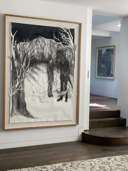 Paintings by Tanya Chaitow seen at Private Residence, Sydney - Painting