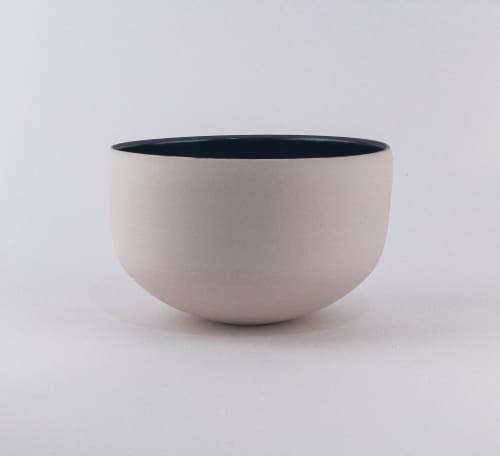 Art & Wall Decor by Lisa Fleming Ceramics seen at San Francisco, CA, San Francisco - Bronze and White bowl