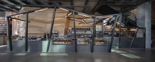 Interior Design by GEO_ID seen at Istanbul, Istanbul - Petra Coffeeshop Maslak