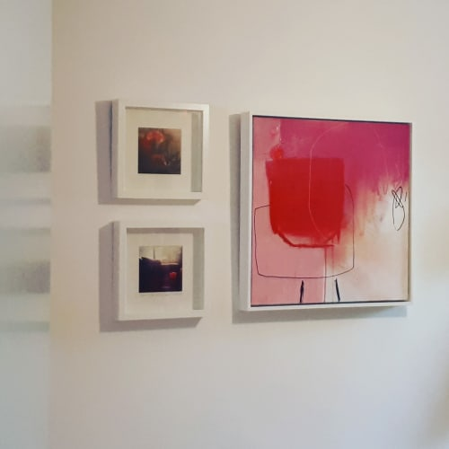 Paintings by Boo Compton seen at Private Residence, London - Verve