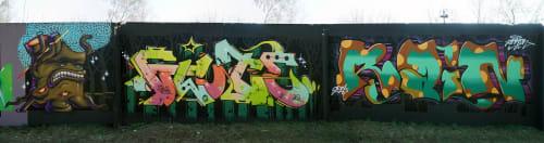 Murals by Sleekiez seen at Lutsk, Lutsk - Alive tree