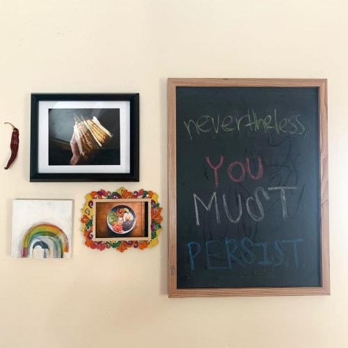 Paintings by Hayley Kolar seen at Private Residence, Saint Paul - Rainbow Painting