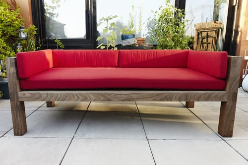 Couches & Sofas by Luke Malaney Furniture at Private Residence, New York - The Tarp Coach and Table
