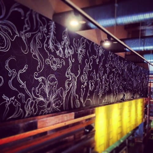 Art & Wall Decor by Juan Marante seen at Cucina Enoteca Irvine, Irvine - Chalk Board