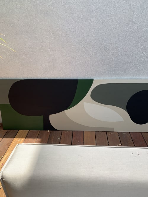 Paintings by Catherine Détraves seen at Private Residence, Los Angeles - City Park 2