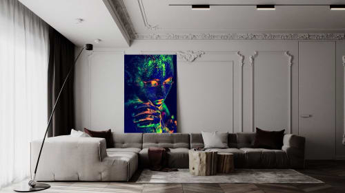 Photography by Burak Bulut YILDIRIM seen at Private Residence, Berlin - Black Light 57