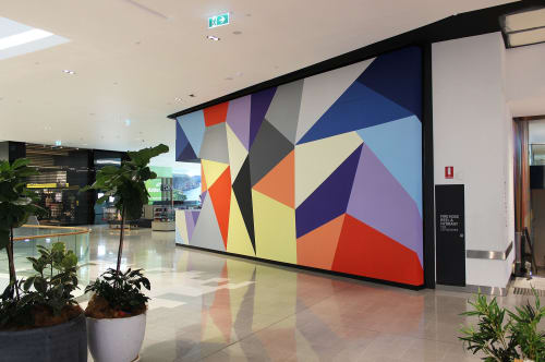 Murals by Karri McPherson seen at Grand Central, Toowoomba City - Grand Central Shopping Centre
