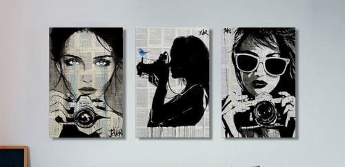 Loui Jover Art - Paintings and Public Art