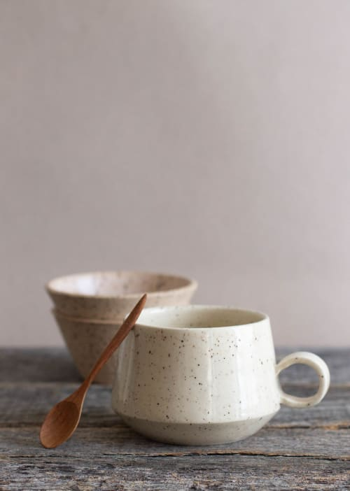 Cups by Cóte García Ceramics seen at Creator's Studio, Brooklyn - Altiplana Tea Mug