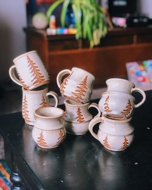 pine tree pottery - Sculptures and Art
