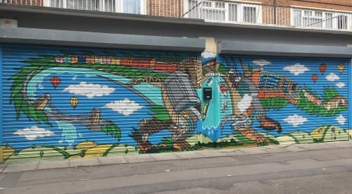 Andy Council - Murals and Art